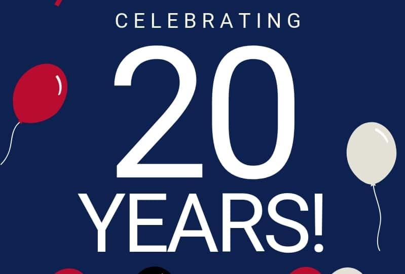 EMC Security Celebrates 20 Years!