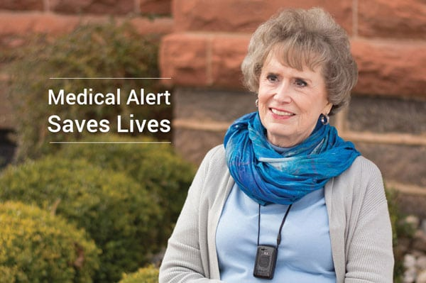 EMC Security Medical Alert Pendant Saves Another Elderly Customer!