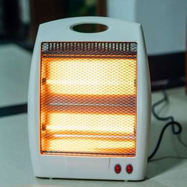 a portable space heater