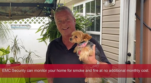EMC Security Saved Our Home From Fire
