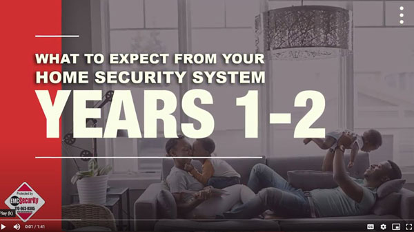 what to expect from your home security system 1-2 years