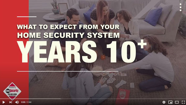 what to expect from your home security system 10 years