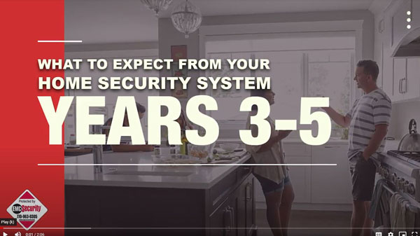 what to expect from your home security system 3-5 years