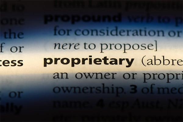 Proprietary definition